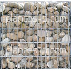 Texture Gabion pabbles